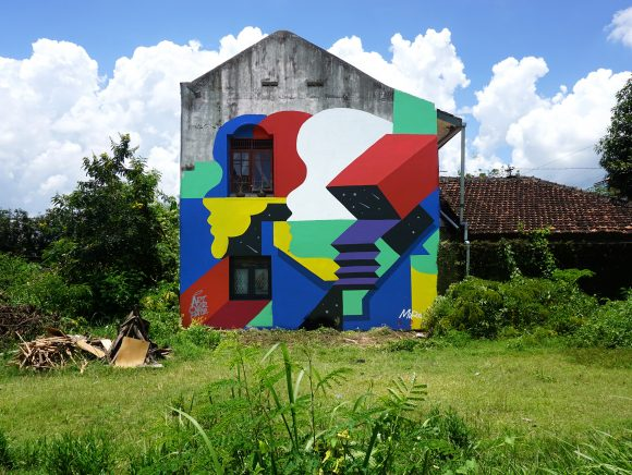 Yogyakarta, Indonesia. 2018. Art Over Hate movement