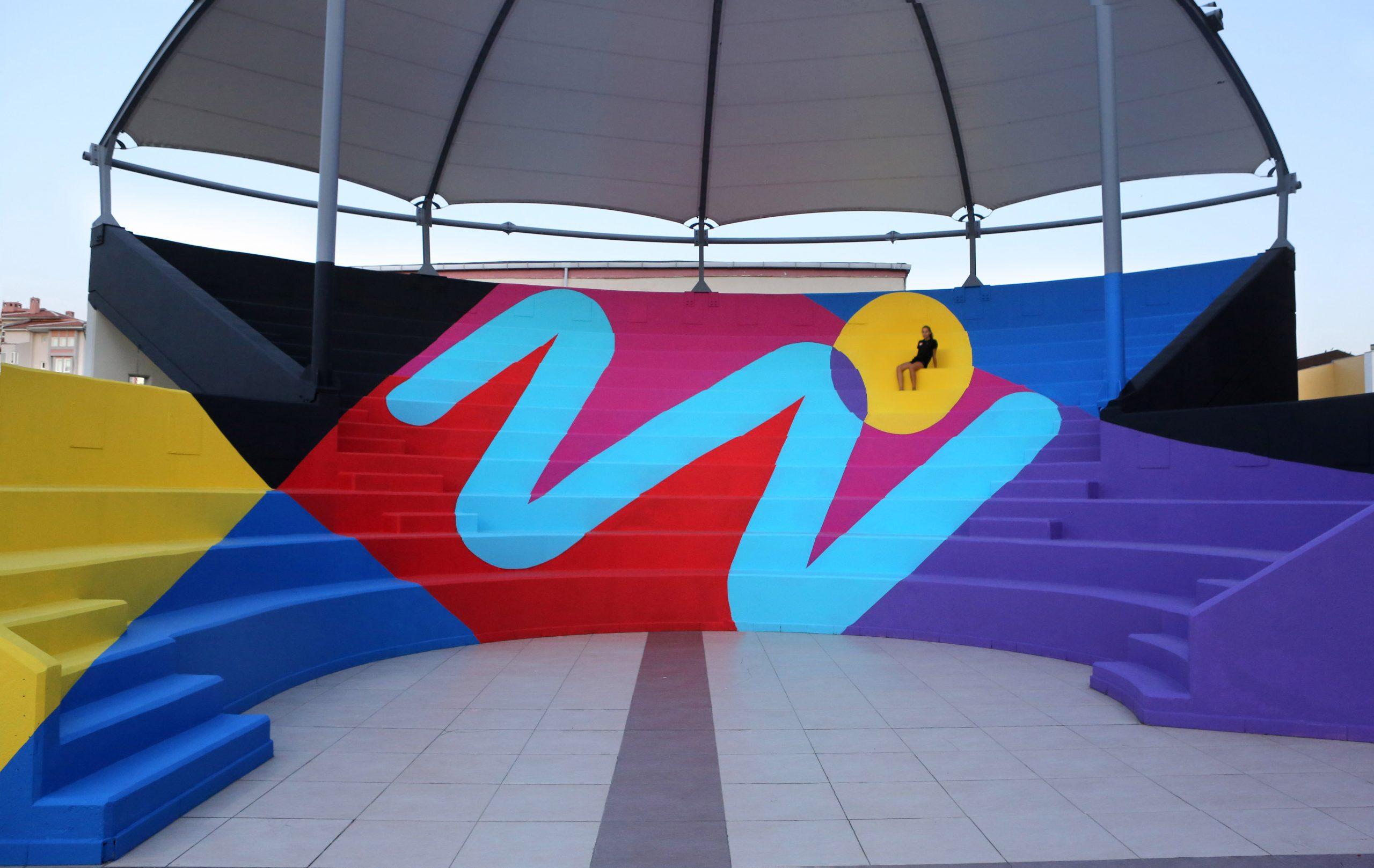 Anphitheater in Istambul, Turkey