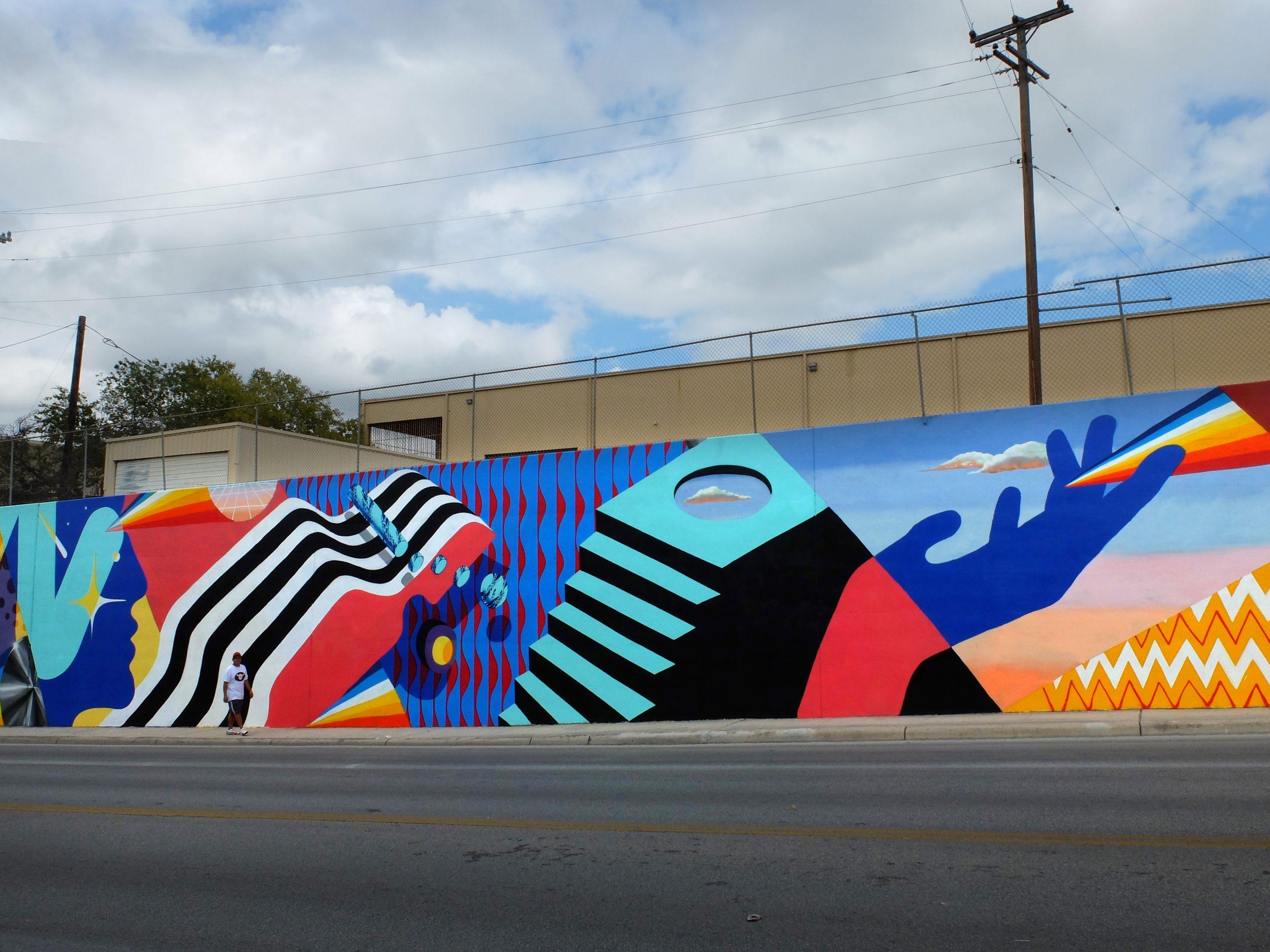 San Antonio, Texas, 2016. Luminaria Contemporary Arts Festival - Murone