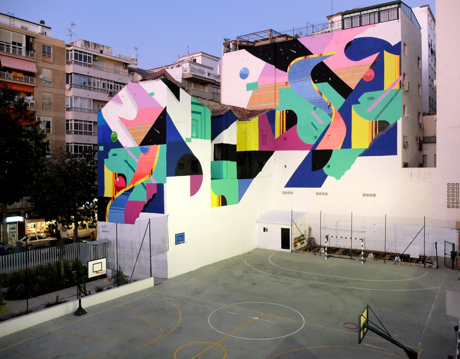 Málaga City, Spain, 2017. Moments Festival. - Murone