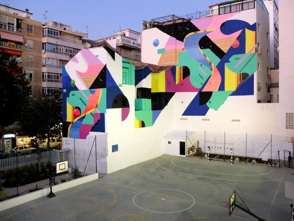 Málaga City, Spain, 2017. Moments Festival. - Murone